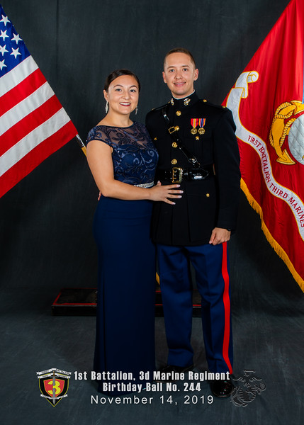 H08A5820-Lava Dogs-1st Battalion 3rd Marines-Birthday Ball No 244-November 2019