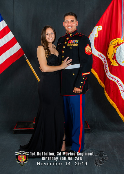 H08A5819-Lava Dogs-1st Battalion 3rd Marines-Birthday Ball No 244-November 2019-Edit