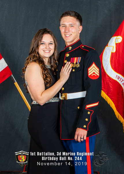H08A5693-Lava Dogs-1st Battalion 3rd Marines-Birthday Ball No 244-November 2019-2