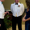 The guest of honor for the evening was Captain Michael J Salvato, Commodore of Destroyer Squadron 21.
