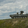 A Romanian Army MLI-84M Infantry Fighting Vehicle sits on a training range during the Combined Arms Live Fire Exercise portion of Combined Resolve II at Grafenwoehr Training Area, Germany, June 26, 2014. (Photo by U.S. Air Force Staff Sgt. Andrew Davis)