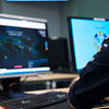 On November 30, 2016, LTC Alex De Nijs,  Dutch Navy from Supreme Headquarters Allied Powers Europe Cyber Division Defense Operation department, scrutinize a live time cyber threat worldmap website during Exercise Cyber Coalition 16 in Tallin, Estonia.<br /> This Cyber defense exercise, organized and run by NATO's Allied Command Transformation (ACT), will have participants from 27 NATO nations, numerous NATO Partner nations, NATO Computer Incident Response Capability (NCIRC) Technical &<br /> Coordination Centres, the European Union Cyber Defence Staff, ensures that NATO and its Partners will be prepared to respond, collectively if necessary, when confronted by any threat and will be able to do so in accordance with international law, including the UN Charter, as applicable.<br /> (NATO Photo by NIC Edouard Bocquet)
