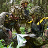 British Duke of Lancaster Regiment and Estonian Scouts Battalion discuss battle plans during Steadfast Javelin 1 in Southern Estonia, May 18, 2014. (Photo by U.S. Air Force Staff Sgt. Andrew Davis)