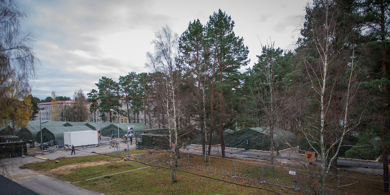 Adazi Camp, Latvia - during the Exercise Steadfast Jazz Baltic Host in Latvia. 31 Oct 2013 ( NATO photo by Sgt. Emily Langer, DEU Army)