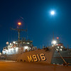 BNS Bellis (M916), from the Belgian Navy, at Frederikshavn Naval Base, Denmark, prior to the start of Ex DANEX-NOCO 2012, on 31 Aug 12.Exercise DANEX-NOCO 2012 is a combined Danish-German naval exercise with 15 participating nations and nearly 50 ships operating off the Danish coast from 3 to 12 September.  The aim of the exercise is to allow the units to experience and train within a multinational naval force.  In addition to the ships there are helicopters and aircraft from Denmark, Germany, USA, France and Sweden, as well as a large number of other Navy units.(Photograph by SSgt Ian Houlding, GBR Army)