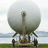 A Persistent Ground Surveillance System Aerostat sits in a field outside of Brekstad, Norway during Unified Vision 14 Trial, May 23, 2014. (Photo by U.S. Air Force Staff Sgt. Andrew Davis)