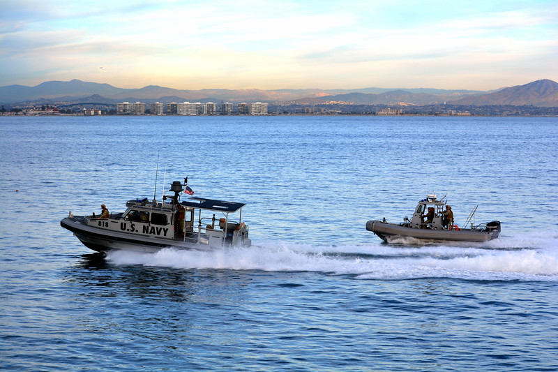 Patrolling San Diego Harbor