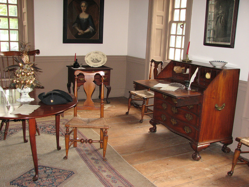 The dining room, used by Gen. Washington as his office.