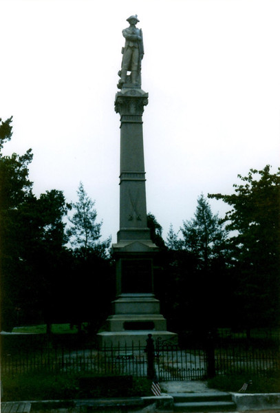 View of the monument