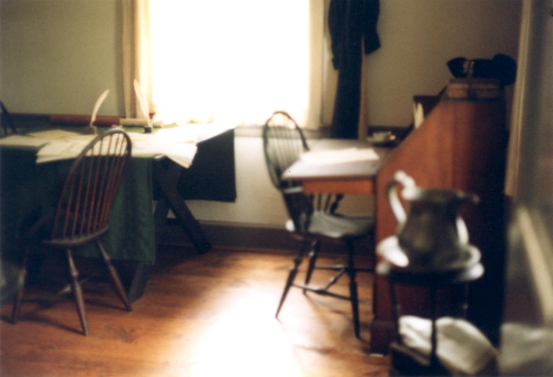 The room Washington used as his office