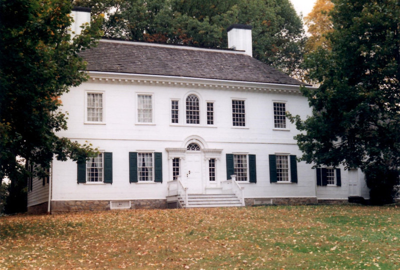 View of the mansion