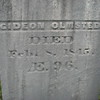 Gideon Olmsted's gravestone