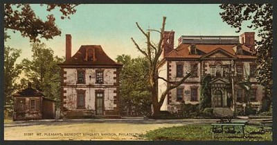 Old postcard view of Mount Pleasant