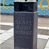 A model of the house on a pillar in Welcome Park