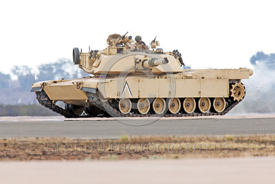 M1 Abrams 00006 This General Dynamics Land Systems USMC M1 Abrams main battle tank has a fuel capacity of about 500 US gallons and an operational range of 265 miles, armor picture by Peter J  Mancus