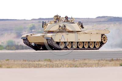 M1 Abrams 00003 The General Dynamics Land Systems USMC M1 Abrams main battle tank's main armament is a 105 or 120 mm canon with 40 to 55 rounds for the canon, armor picture by Peter J  Mancus