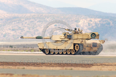 M1 Abrams 00005 The General Dynamics Land Systems M1 Abrams main battle tank, depending on variant, weighs 60-65 tons, has a massive main turret, and is 8 feet high, armor picture by Peter J  Mancus