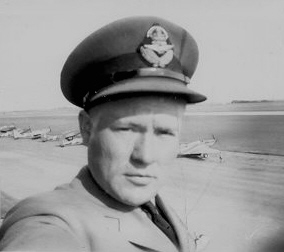 RCAF Flight Officer & Instructor (Fighter Pilot) Charles Lester Compton.