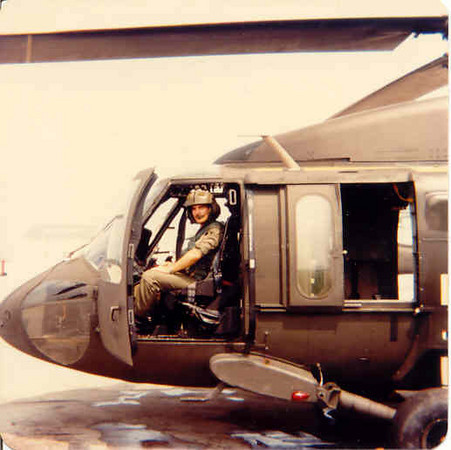 Undisclosed location in North Africa with the Screaming Eagle on my shoulder. We had M-60's, but couldn't have them showing.