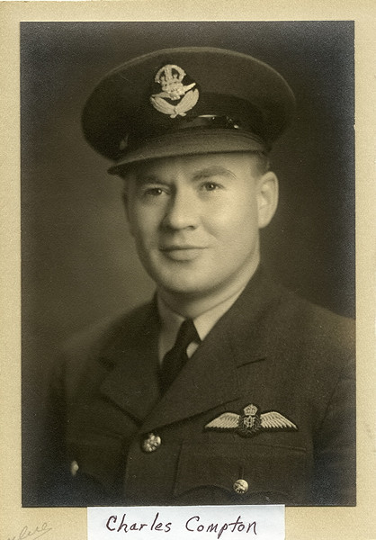 Canadian Flight Officer Charles Lester Compton, January 1940