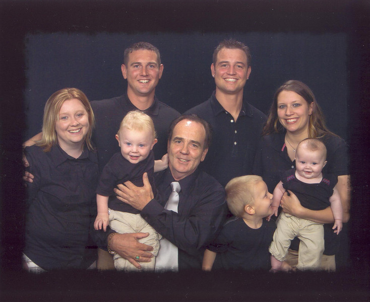 The Compton's, Father's Day 2006. Chuck jr. was on his 2 week leave from Iraq. What a blessing.