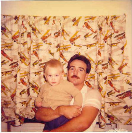 Chuck Jr and me.