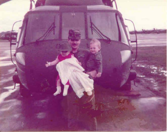The 3 Compton UH-60A Black Hawk Pilots. Tom, me, Chuck Jr with the 101st.