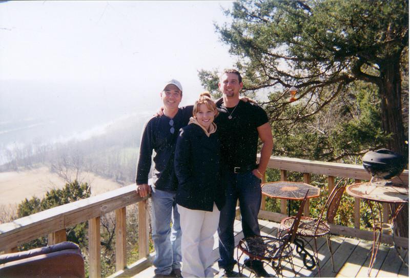 Me, Erin, Chuck Jr, at Compton's Cabin 2003