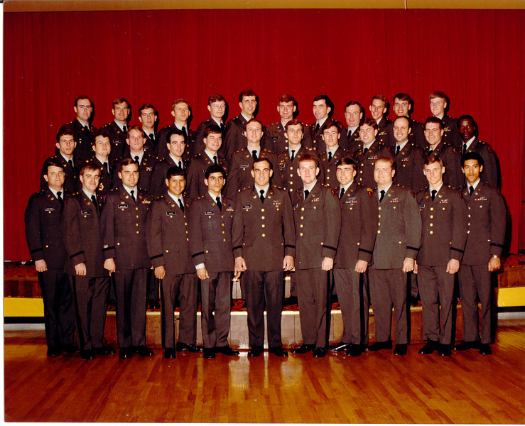 Class 81-31. I'm in the second row, fourth from the left.