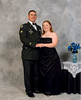 "Charles E Compton Jr & wife, Erin Patterson Compton, at the ""Lonestar's"" Ball,2d STB, 4th ID, Ft Hood TX in February 2007,."