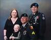 Erin, Payton, SGT Charles E. Compton Jr., & me.