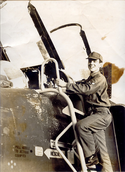 Me as a CrewChief in the Air Force.
