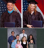 Thomas Patrick & Jenniffer Lee Compton December 15th 2007 Graduates of The University of Northern Iowa. And below, me, Jon & Dawn Osgood (Jen's Parents), Tom, Jen, Neviah Leigh & Carter Thomas Compton. (same day)