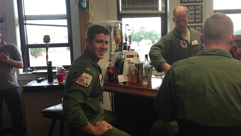 I adore this look he's giving me right after he found out he got helos =)   Nick's Platform Selection after completely Primary Training at NAS Whiting Field with the VT-3 Red Knight Squadron.   Check out my blog for more details on this event:  http://melzieslife.blogspot.com/2013/01/platform-selection.html