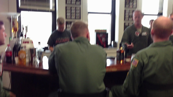 Talking about the ceiling tiles  Nick's Platform Selection after completely Primary Training at NAS Whiting Field with the VT-3 Red Knight Squadron.   Check out my blog for more details on this event:  http://melzieslife.blogspot.com/2013/01/platform-selection.html
