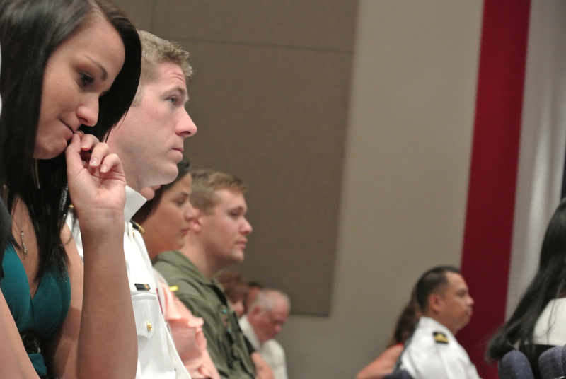 August 23, 2013     Nick's Winging Ceremony at NAS Whiting Field Auditorium