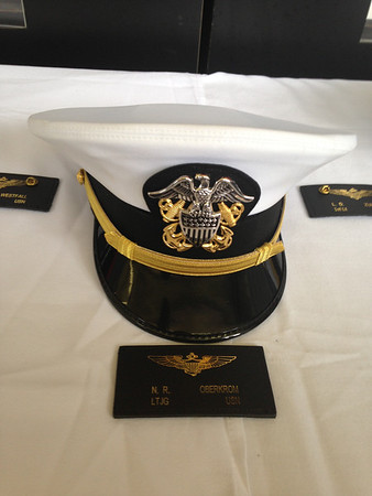 Nick's cover and soft patch  August 23, 2013  |  Nick's Winging Ceremony at NAS Whiting Field Auditorium