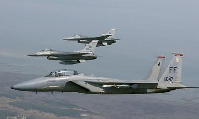 F-15 over Va