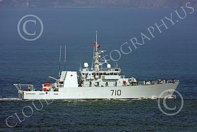 FWS 00003 Canada's Kingston-class coastal defense vessel BRANDON 710 seen inside San Francisco Bay for Fleet Week, by Peter J Mancus