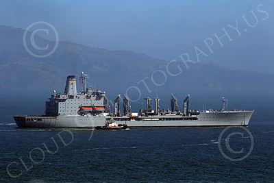 USNWS 00097 The US Navy's USS Guadalope (A0-32), A Cimarron-class fleet replenishment oiler, as seen inside San Francisco Bay, by Peter J Mancus