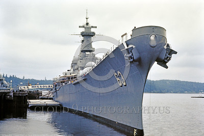 USNWS 00127 Decommisioned U S  Navy battleship USS Missouri (BB-63) upon which Japan surrenderd in Tokyo Bay in 1945, seen moored at Pearl Harbor, warship picture by Michael Grove