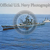 USNWS 00126 An aerial view of the US Navy's USS New Jersey (BB-62), a World War II era super battleship, 1954-1948, and other periods of service, official US Navy photograph produced by Cloud 9 Photography