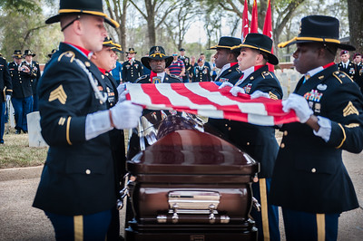 "Graveside Service for Retired Army Lt. Gen. Harold Gregory ""Hal"" Moore Jr."