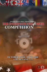 International Sniper Competition Poster