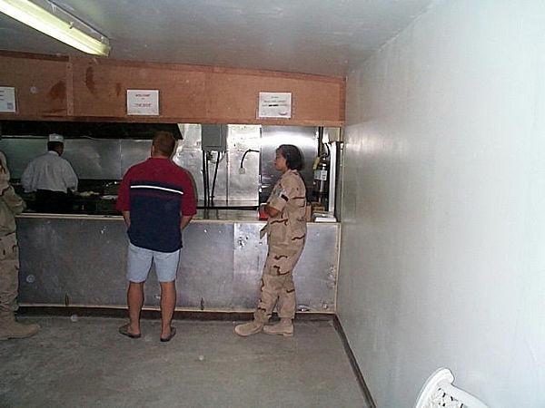 2000 09 22 - Capt A getting junk food