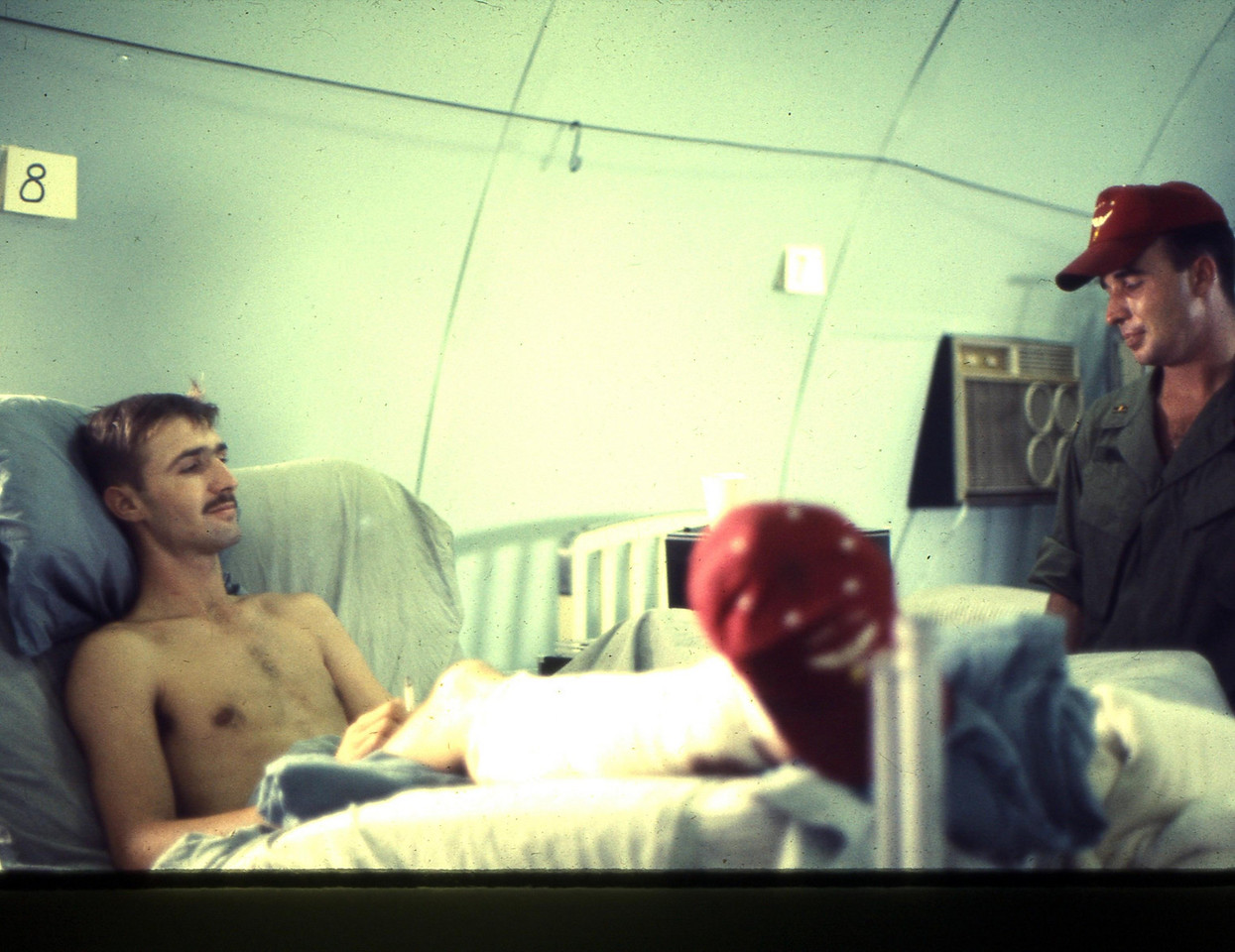 GUYS IN RED HATS WERE OUR HEROES