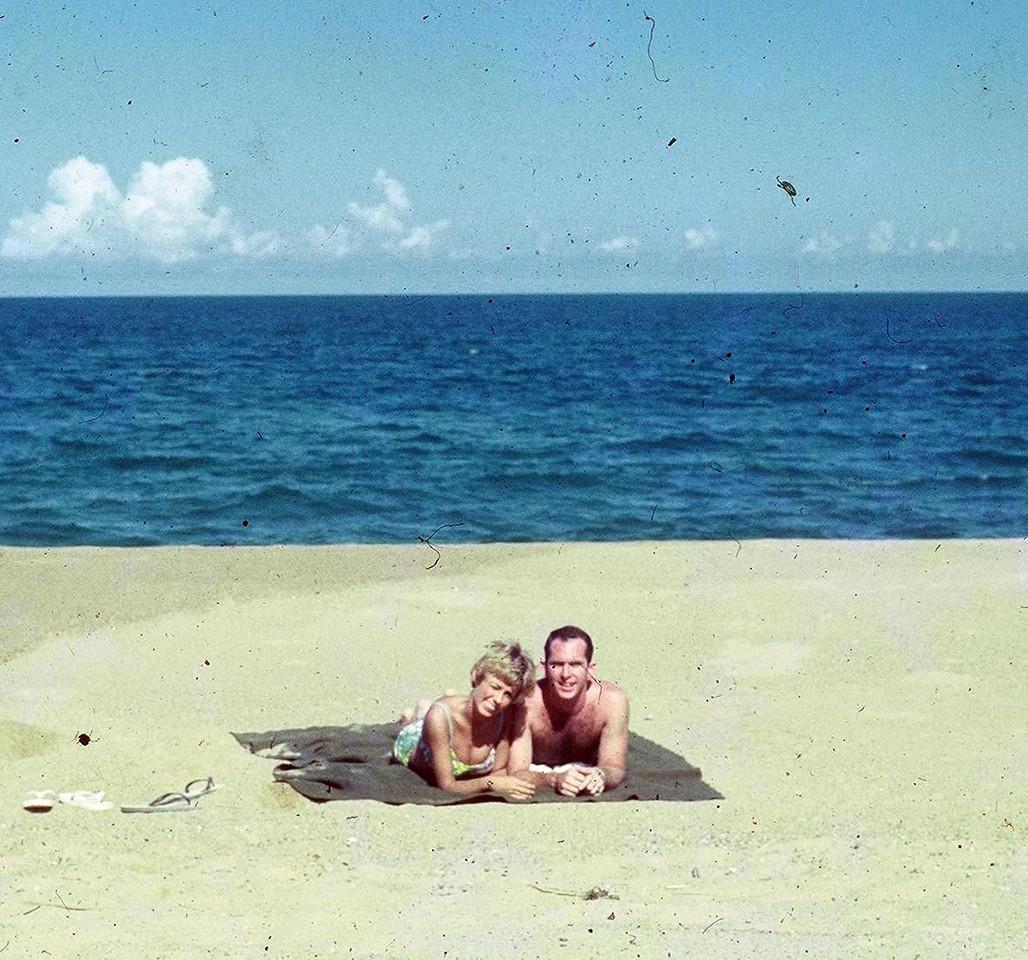 "Rock Massey and Judy;  Rock  was a ""Hun"" pilot 309th 68'"