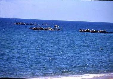 Sampons in South China Sea