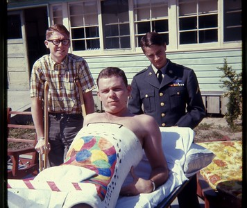 Patients at FT. ORD ARMY HOSPITAL,  MONTEREY CALIFORNIA...I SERVED THESE MEN..18-19 YEAR OLD VIETNAM WOUNDED
