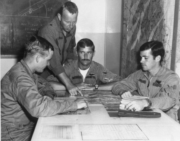 Ret Col.Art Suro/Lt Col.Larry Whitford/JD Wetterling,  Ret BG/Tom Wittman   JD's Nam Pics